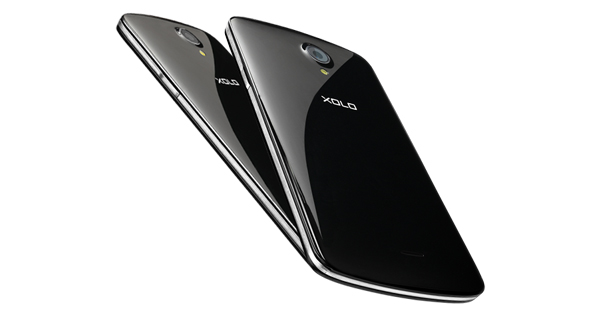 XOLO Omega Back View
