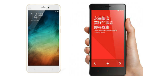 Xiaomi Reveals New MI Note and Note Pro with QHD Display and Snapdragon 810