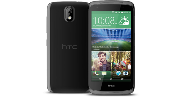 HTC Desire 526G Plus Back & Front View
