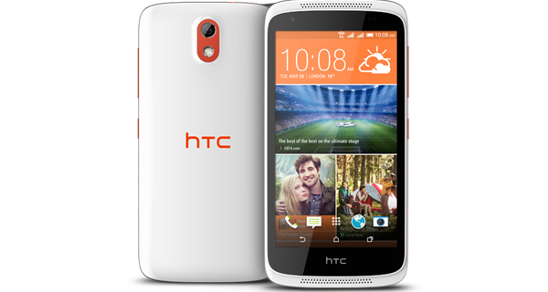 HTC Desire 526G Plus Front & Back View