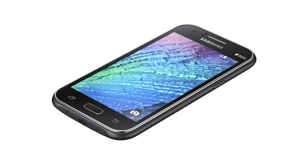 Samsung Galaxy J1 Front Side view