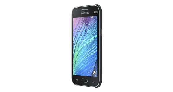 Samsung Galaxy J1 Right Side View