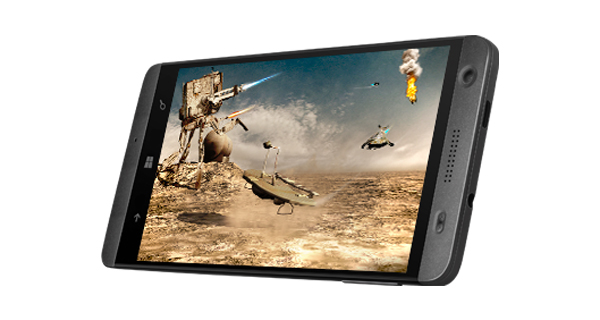 XOLO Win Q1000 Front & Bottom Side View