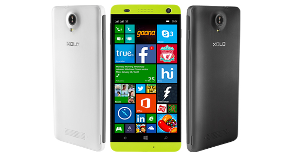 Xolo Launches Win Q1000 with 5 inch Display and Windows 8.1 for Rs. 8499