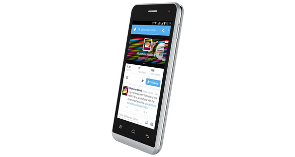 Micromax Bolt Q324 Right Side View