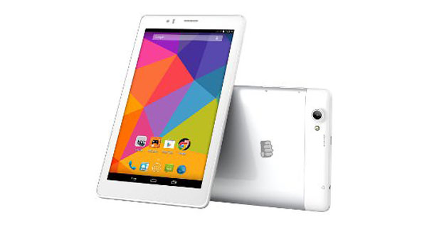 Micromax Canvas Tab P470 Overall View