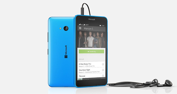 Microsoft Lumia 640 Dual Front & BAck View
