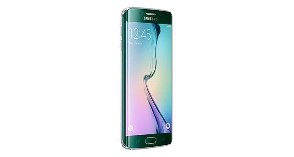 Samsung Galaxy S6 Edge Left Side View
