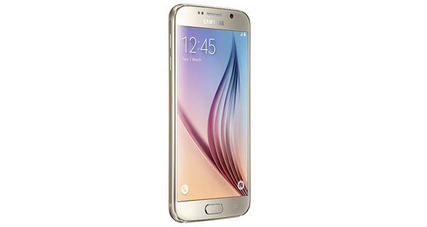 Samsung Galaxy S6 Left Side View