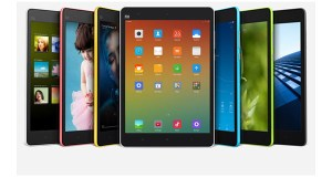 Xiaomi MiPad Front & Sides