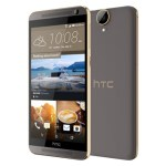 HTC One E9 Plus Front and Back View