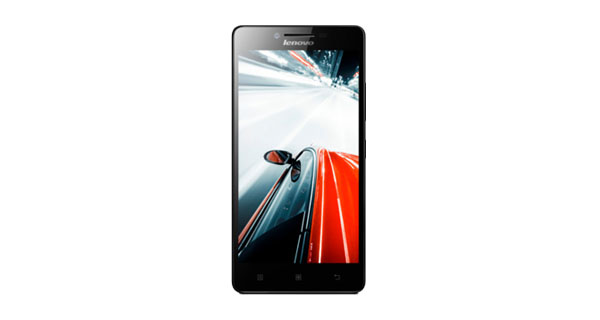 Lenovo A6000 Plus Front View
