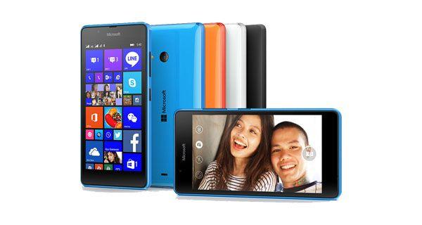 Microsoft announces Lumia 540 Dual SIM Smartphone; India Launch Next Month