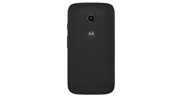 Moto E (2nd Gen) 4G Back View