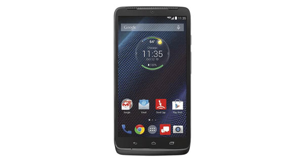 Motorola Droid Turbo Front View