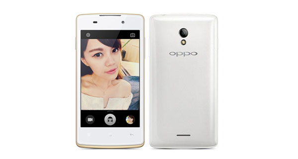 Oppo Joy Plus Front and Back ViewOppo Joy Plus Front and Back View