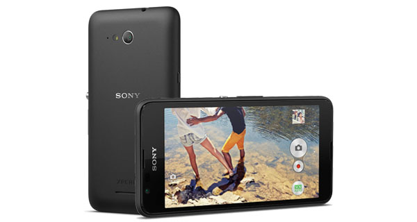 Sony Xperia E4g Front and Side View