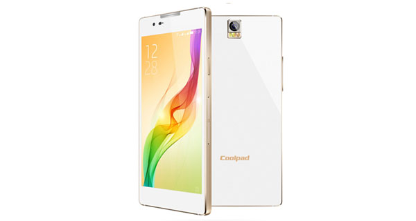 Coolpad Dazen X7 Front and Back View