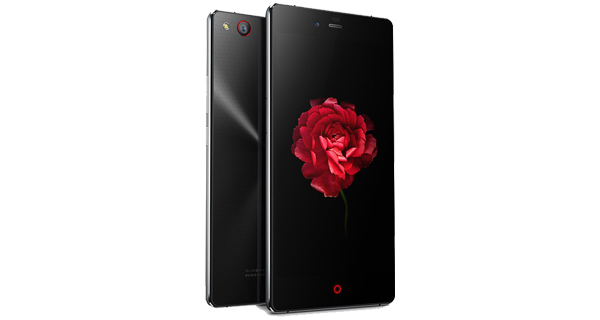 ZTE nubia Z9 max Front and Back Black