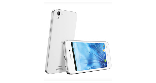 Lava Iris X1 Atom S Front and Back View