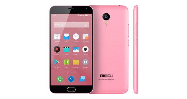 Meizu M2 Note Front and Back View