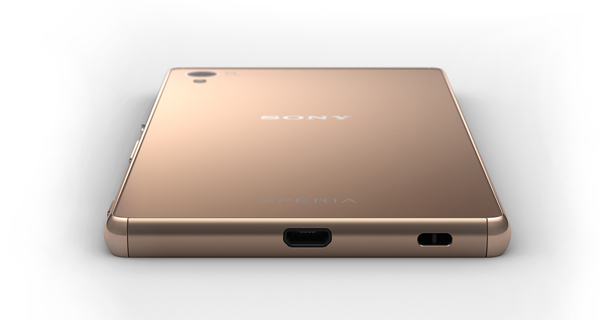 Sony Xperia Z3 Plus Top and Back View