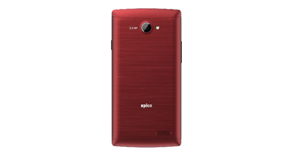 Spice XLife 404 Back Red Color