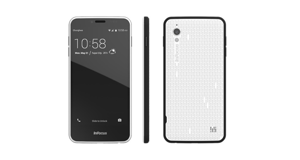 InFocus M370 Side View
