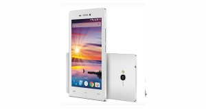 Lava Flair Z1 Front and Back White
