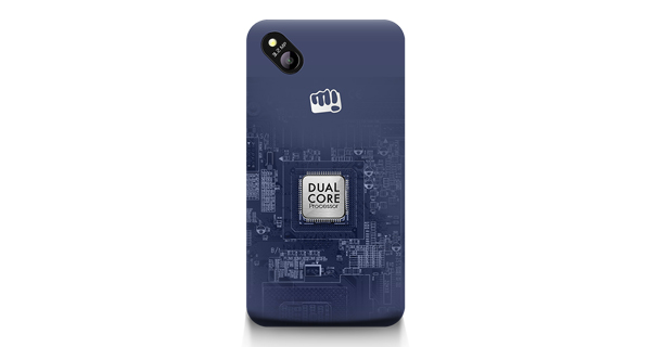 Micromax Bolt D303 Back View