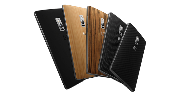 OnePlus Two Back View Multicolor