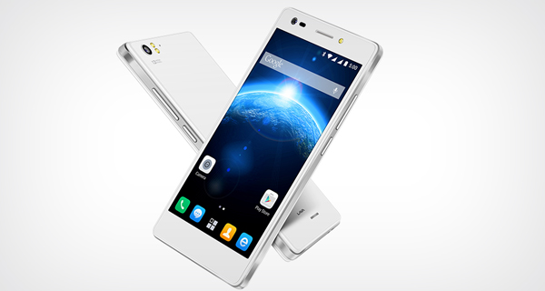 Lava Iris X5 4G Front and Back White