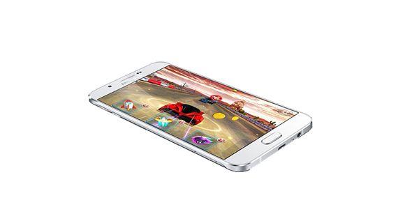 Samsung Galaxy A8 Top View