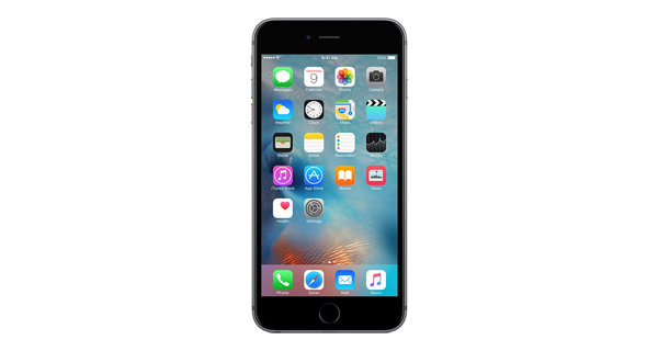 Apple iPhone 6s Plus Front View