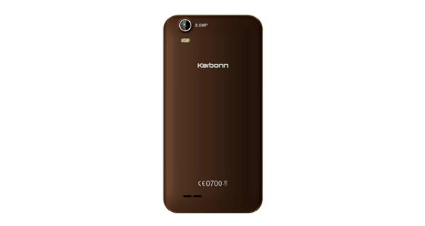 Karbonn Titanium S200 HD-Back View