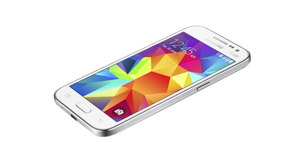 Samsung Galaxy Core Prime VE Top View