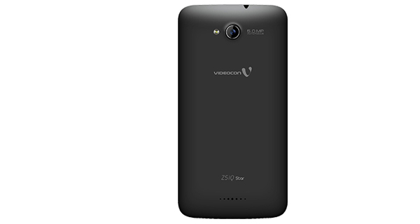 Videocon Infinium Z51Q Star Back View