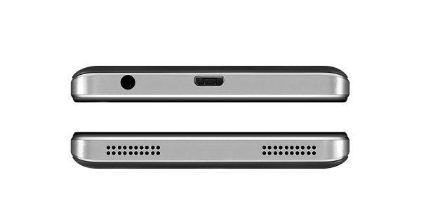 Lenovo VIBE P1m Top and Bottom View