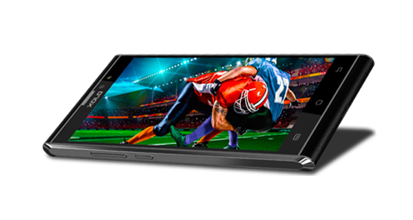 Xolo BLACK 1X Front and Side View