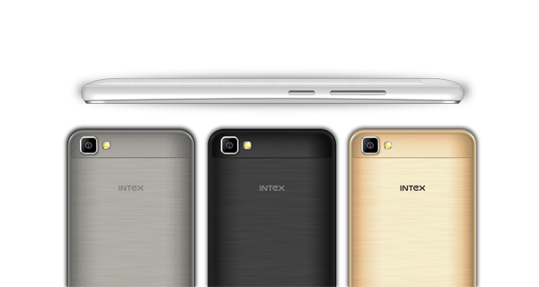 Intex Aqua Air Back and Side View