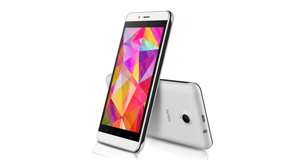 Intex Aqua Q7 Front and Back View