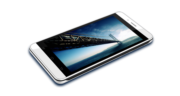 Intex Aqua Q7 Top View