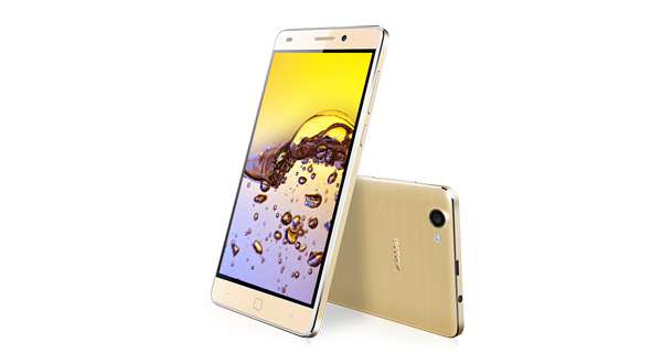 Intex Aqua Super Front and Side View
