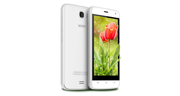 Intex Aqua Wave Front and Side View