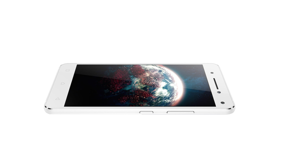 Lenovo Vibe S1 Top VIew