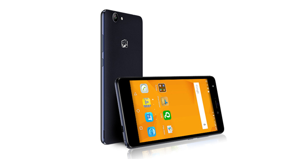 Micromax Canvas Nitro 3 E352 Front and Back View