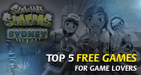 Top 5 Free Games for Android users: Infinite Fun