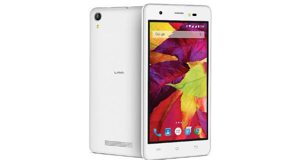Lava P7 Front and Back