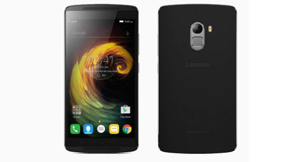 Lenovo K4 Note Front and Back