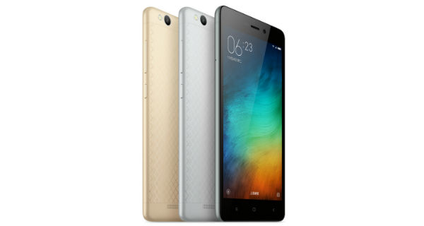 Xiaomi Redmi 3 officially announced; features 4100mah battery, Snapdragon 616 and more
